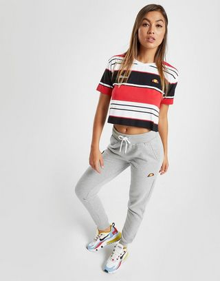 Ellesse Stripe T-Shirt Damen