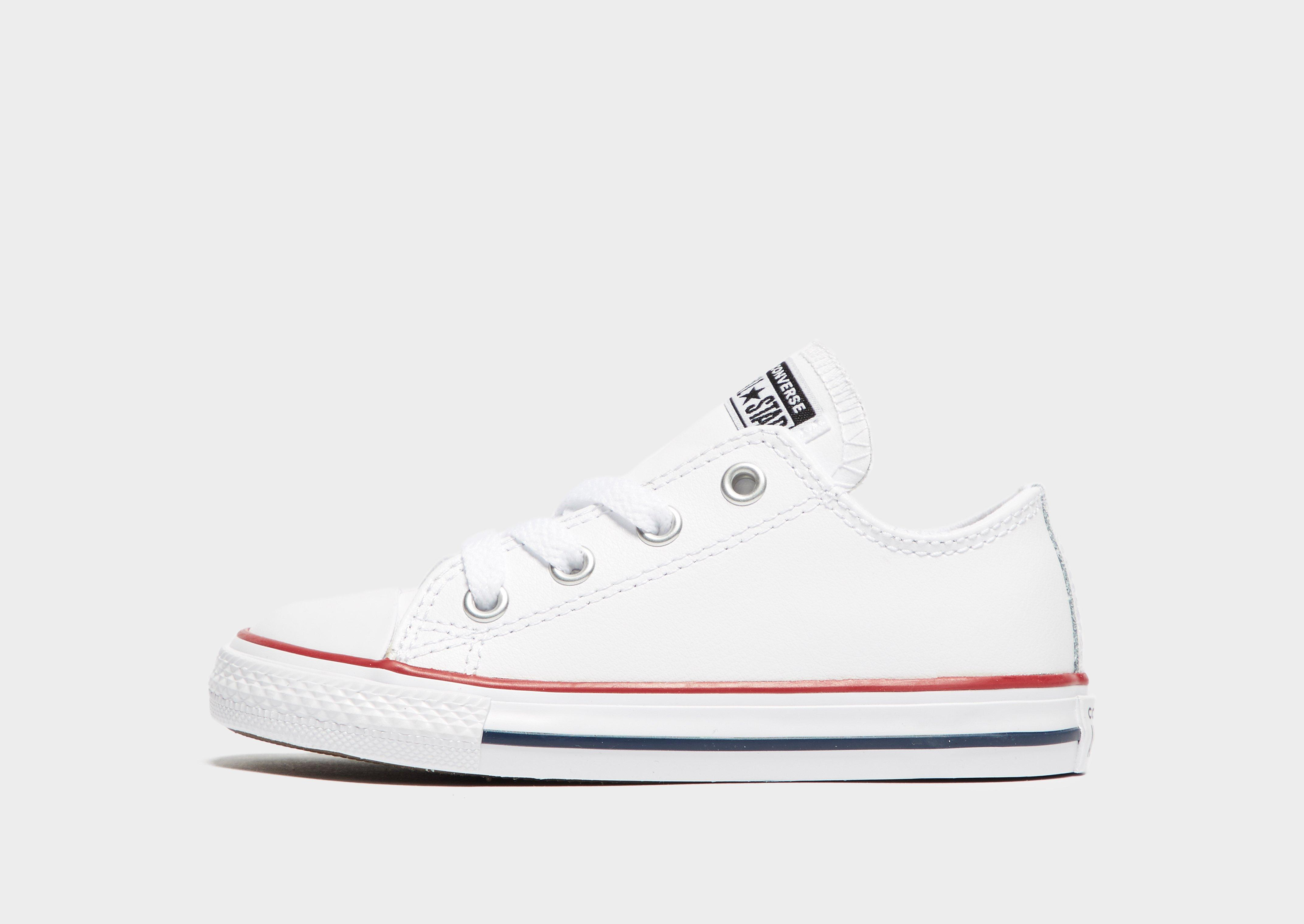 Converse All Star Leather Infant ...