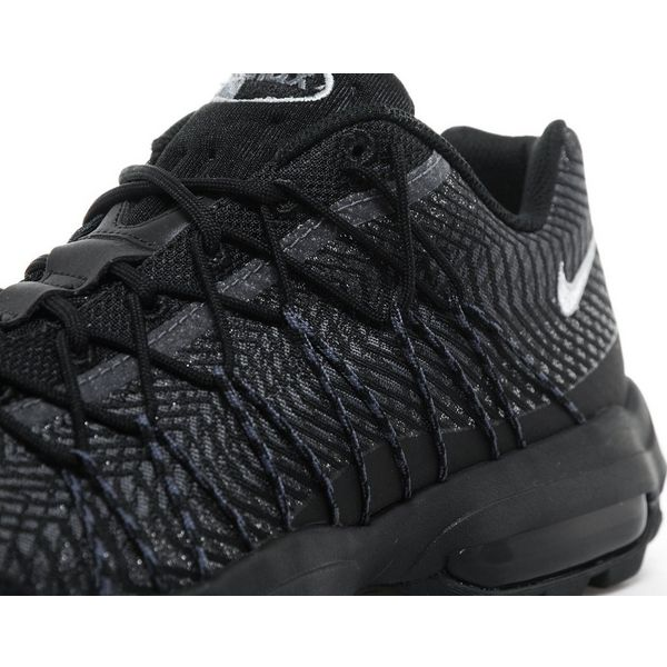 online store 9956b eb81c Nike Air Max 95 Ultra Jacquard All Black extreme-hosting.co.uk