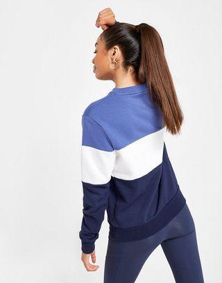CLASSIC LOGO SWEAT femmes Sweat shirt en bleu Fila en coloris Blue
