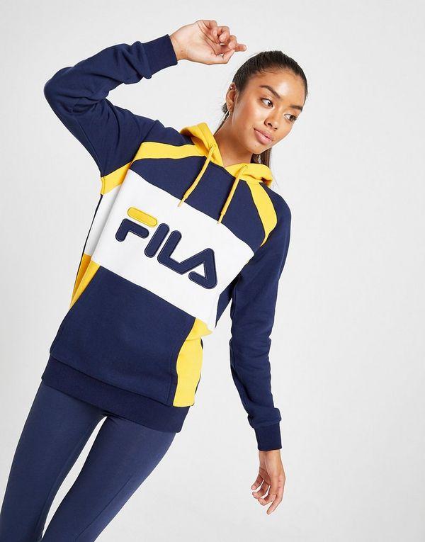 Capuche Sports Fila FemmeJd Sweat Stripe Panel À fgmYI76yvb