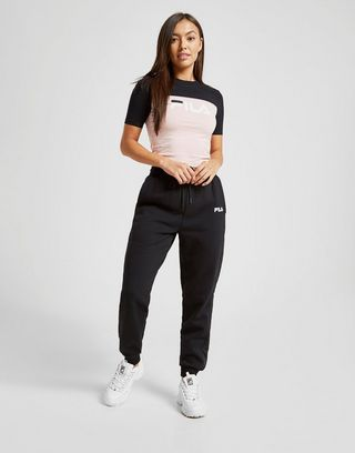 Fila Piping Crop T-Shirt