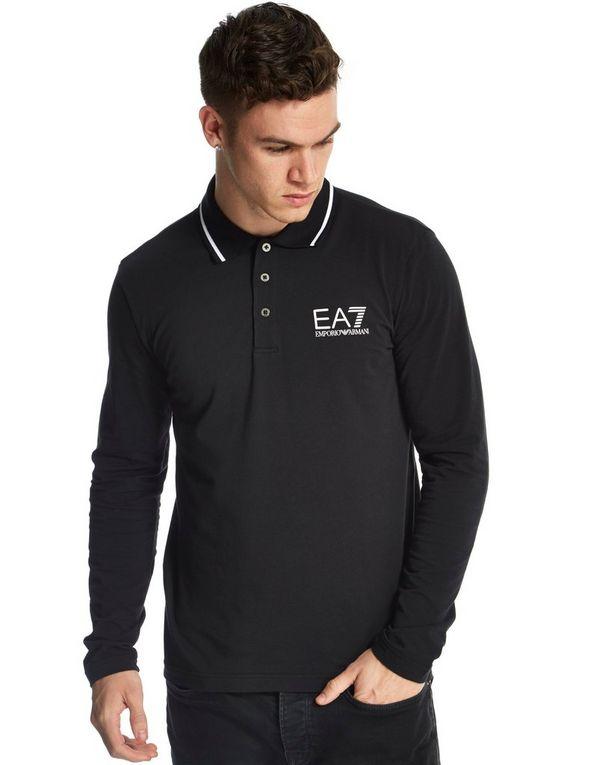 Emporio Armani EA7 Train Core Long Sleeve Polo Shirt