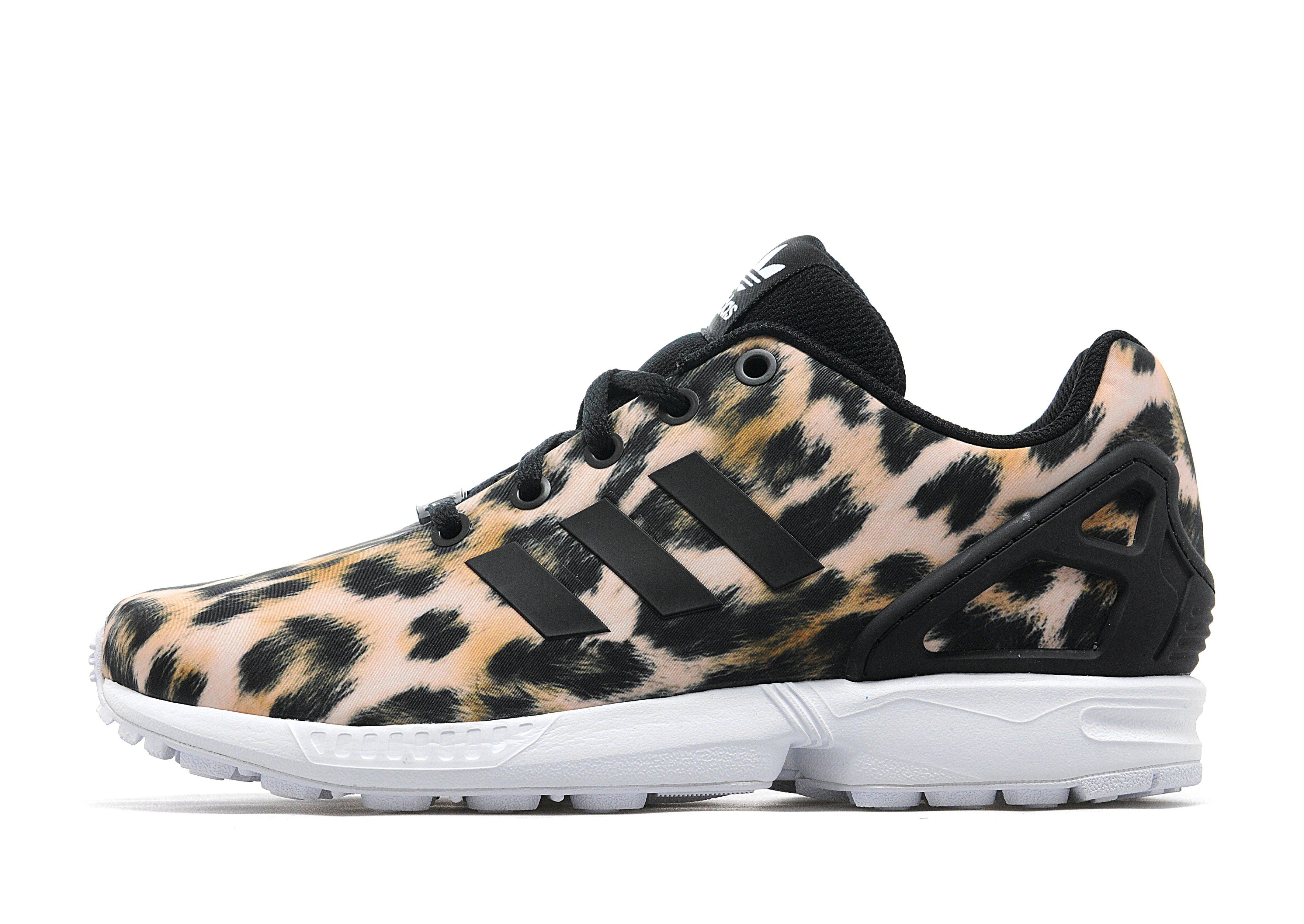 adidas zx flux torsion leopard print. Black Bedroom Furniture Sets. Home Design Ideas