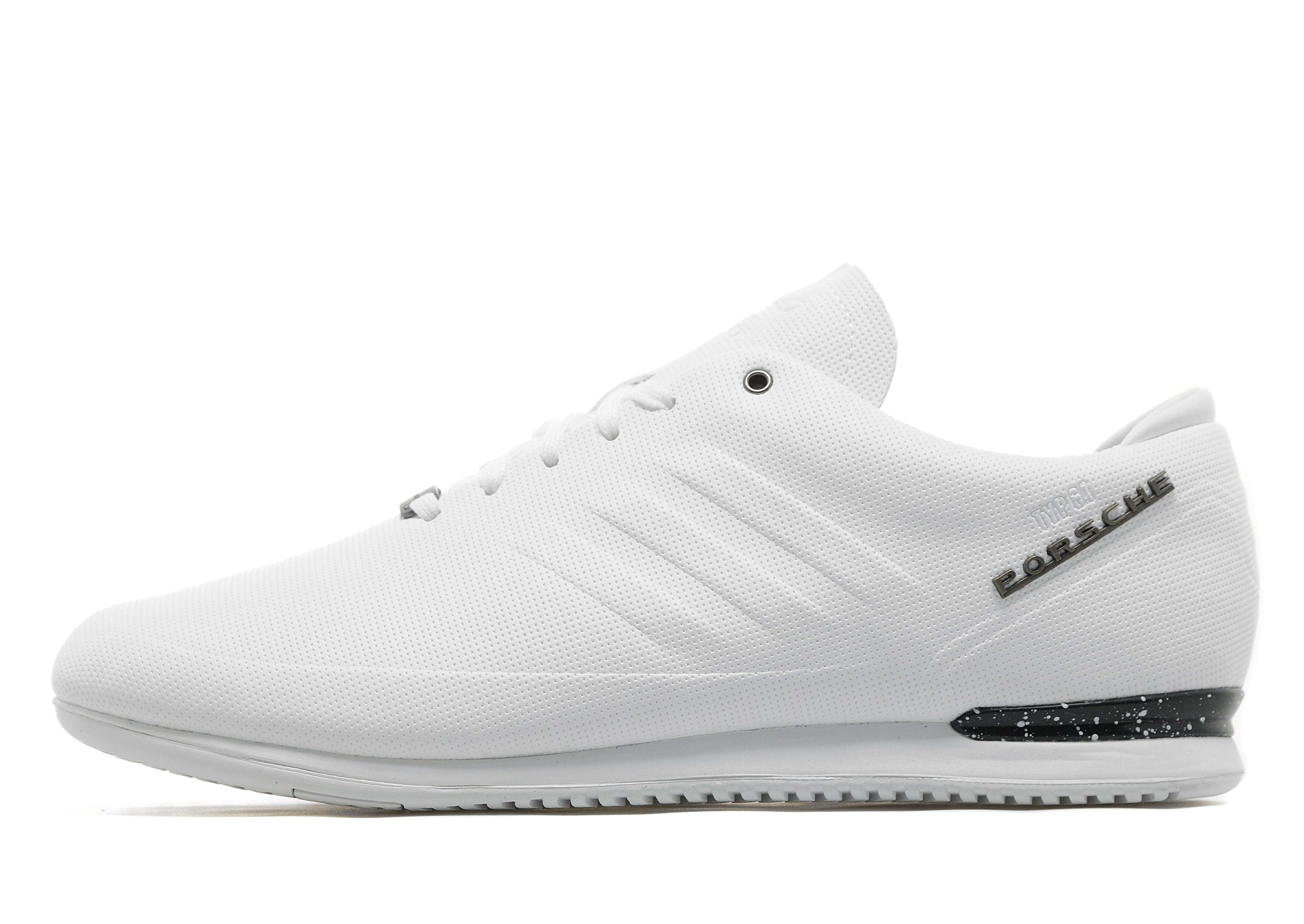 super quality 100% high quality run shoes adidas porsche typ 64 white