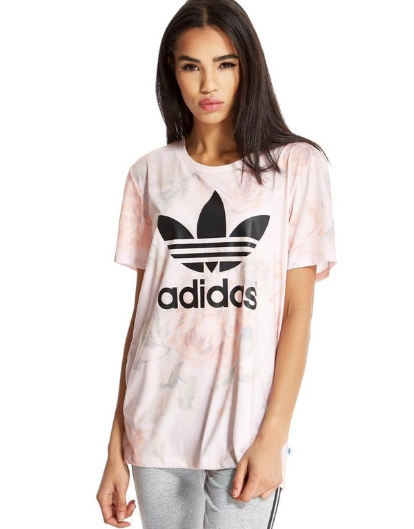 adidas originals pastel rose top