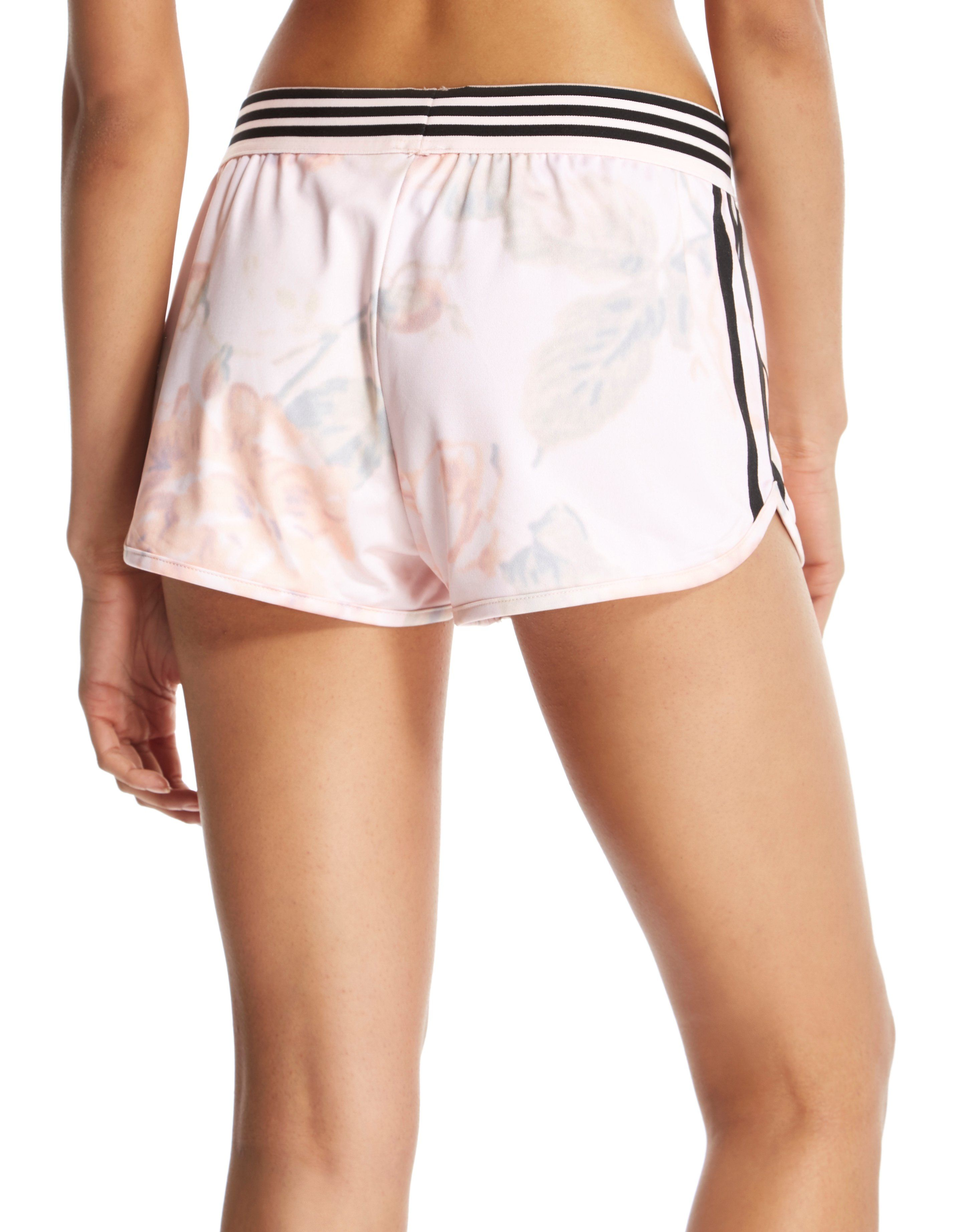 adidas Originals 'Rose Collection' Pastel Rose Running Shorts