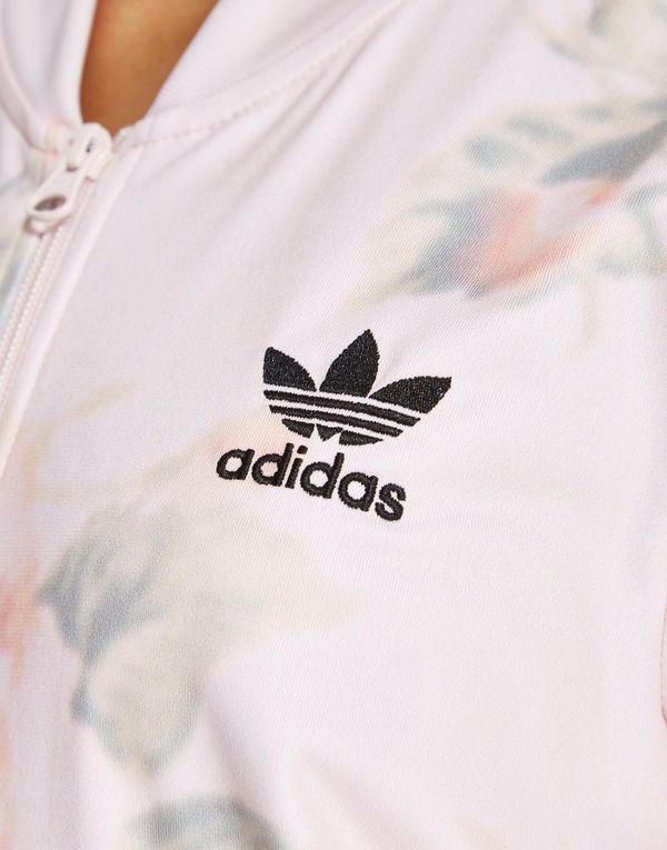 adidas originals rose collection' pastel rose track top