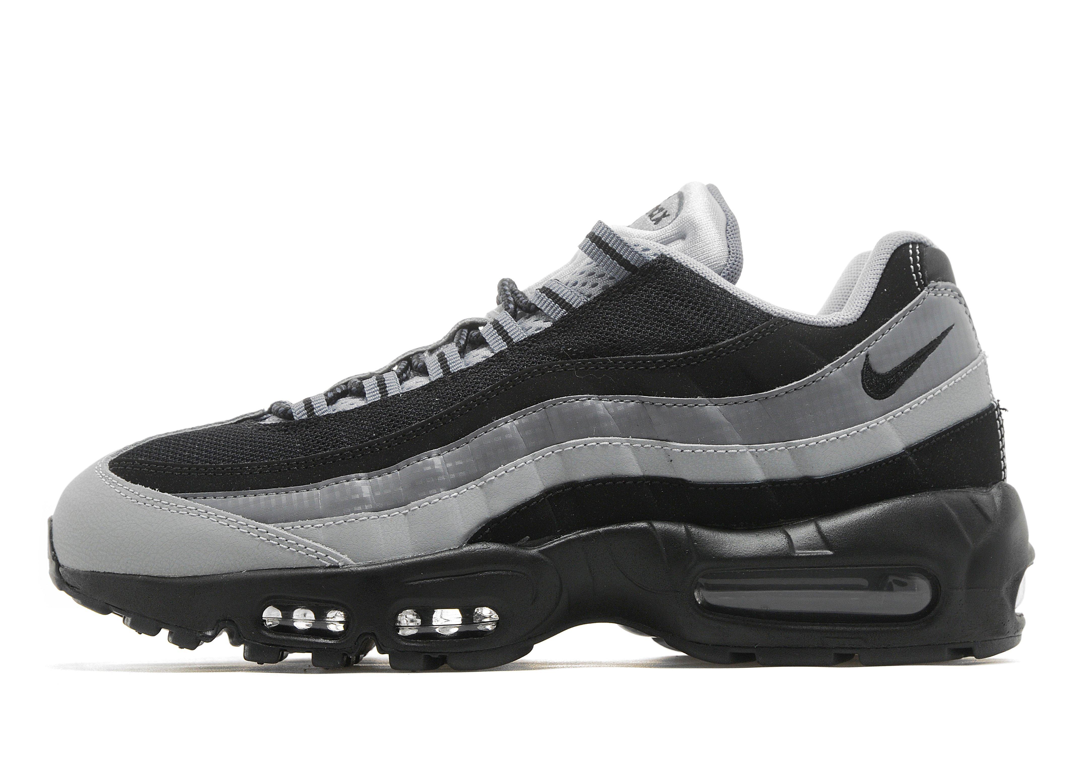 air max 95 grey and black