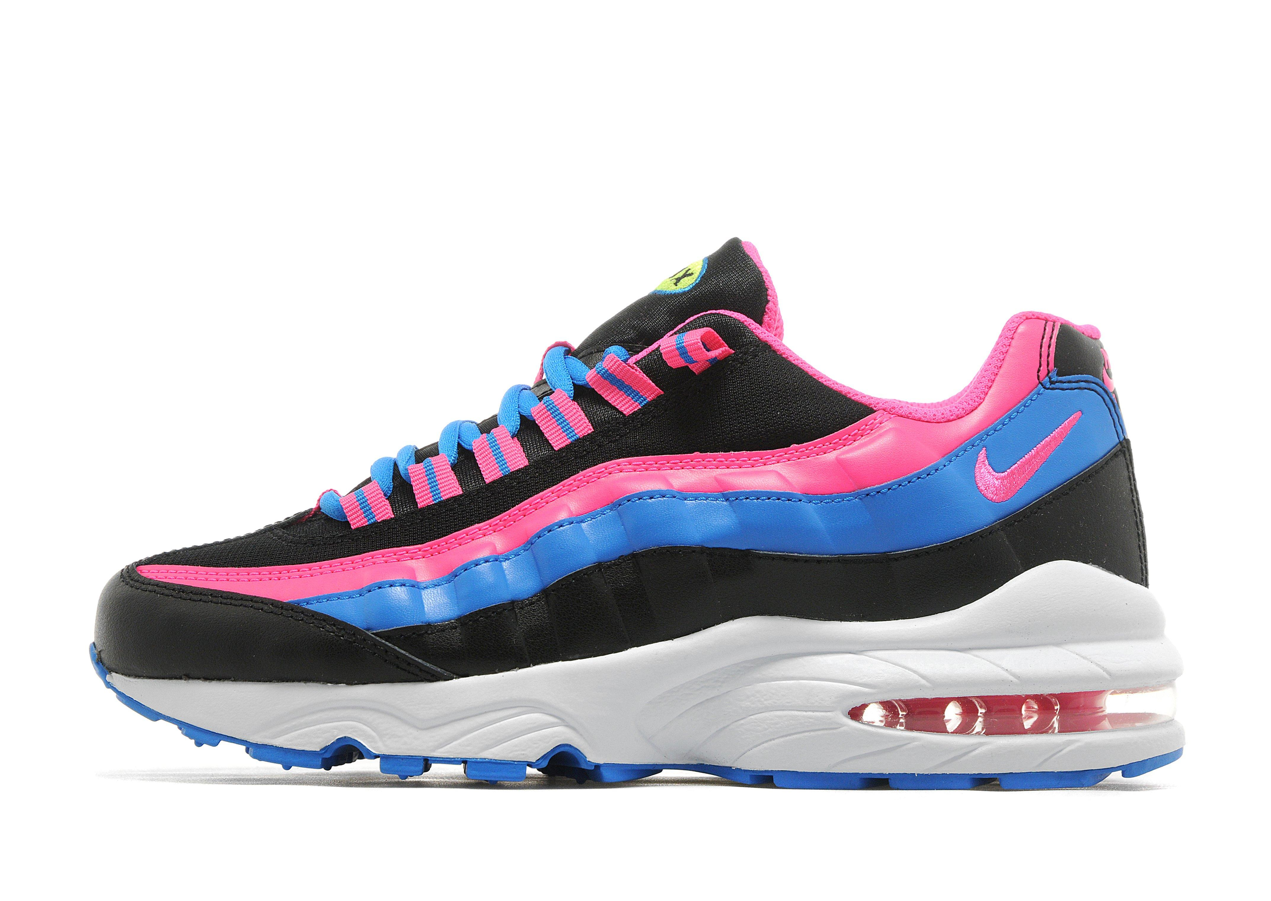 air max 95 blue and pink