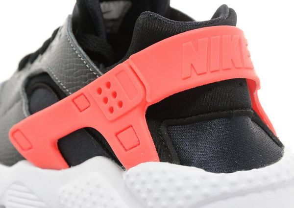 nike air huarache junior grey orange black