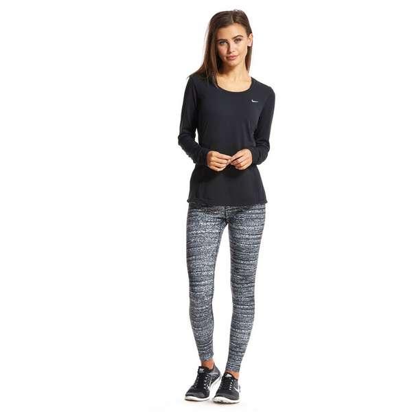 nike air max nm nomo Varsity rouge - Nike Dri-FIT Contour Long Sleeve T-Shirt | JD Sports