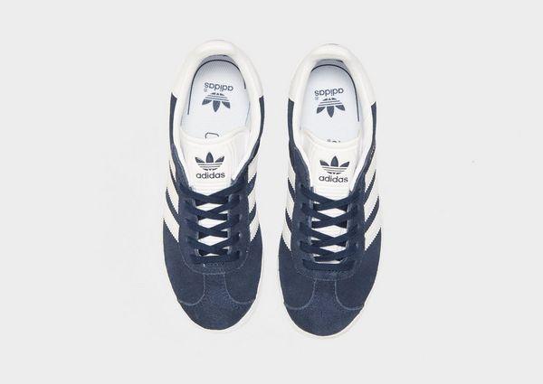 adidas gazelle zwart junior