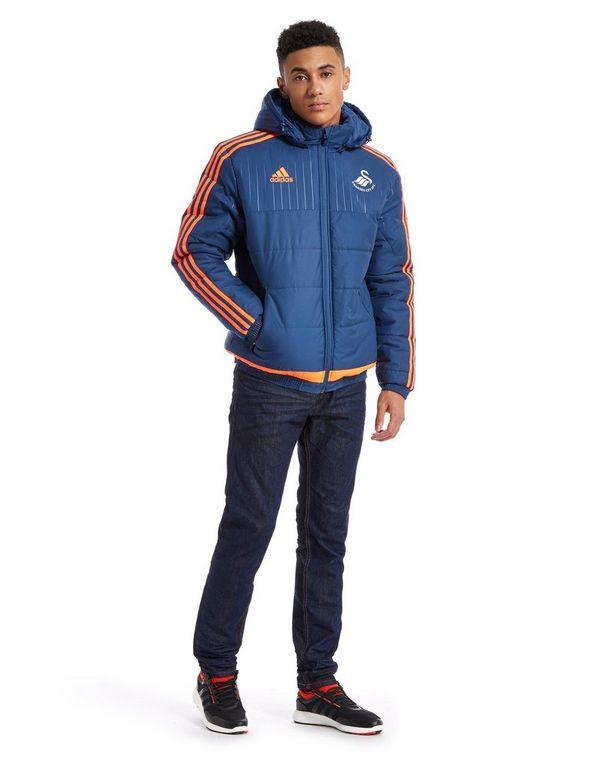 adidas Swansea City FC Padded Jacket