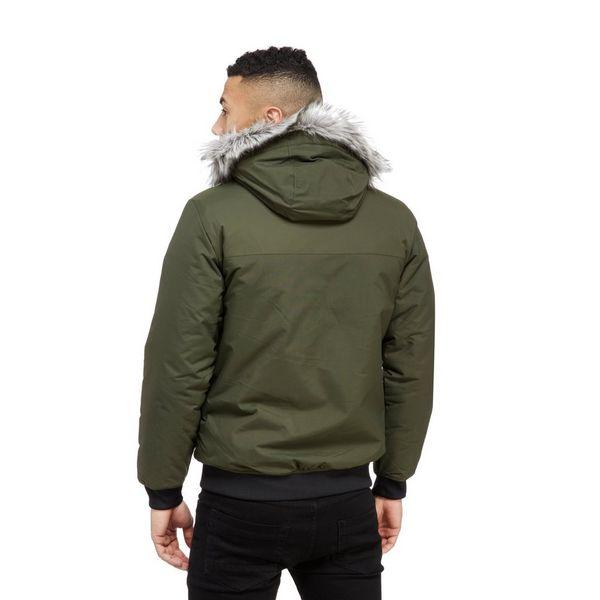 adidas Originals Trefoil Fur Parka Jacket | JD Sports