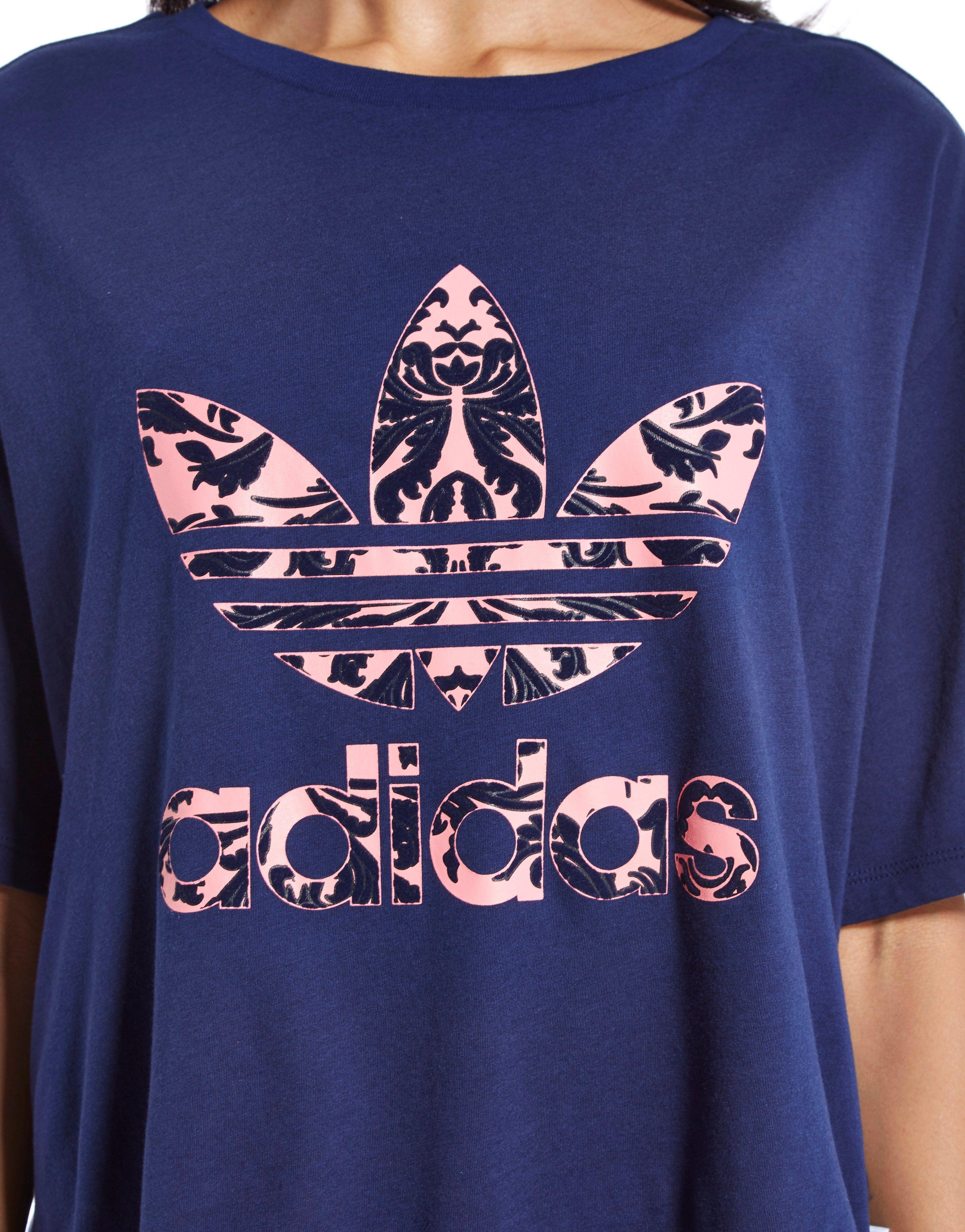 adidas Originals Baroque Crop T-Shirt