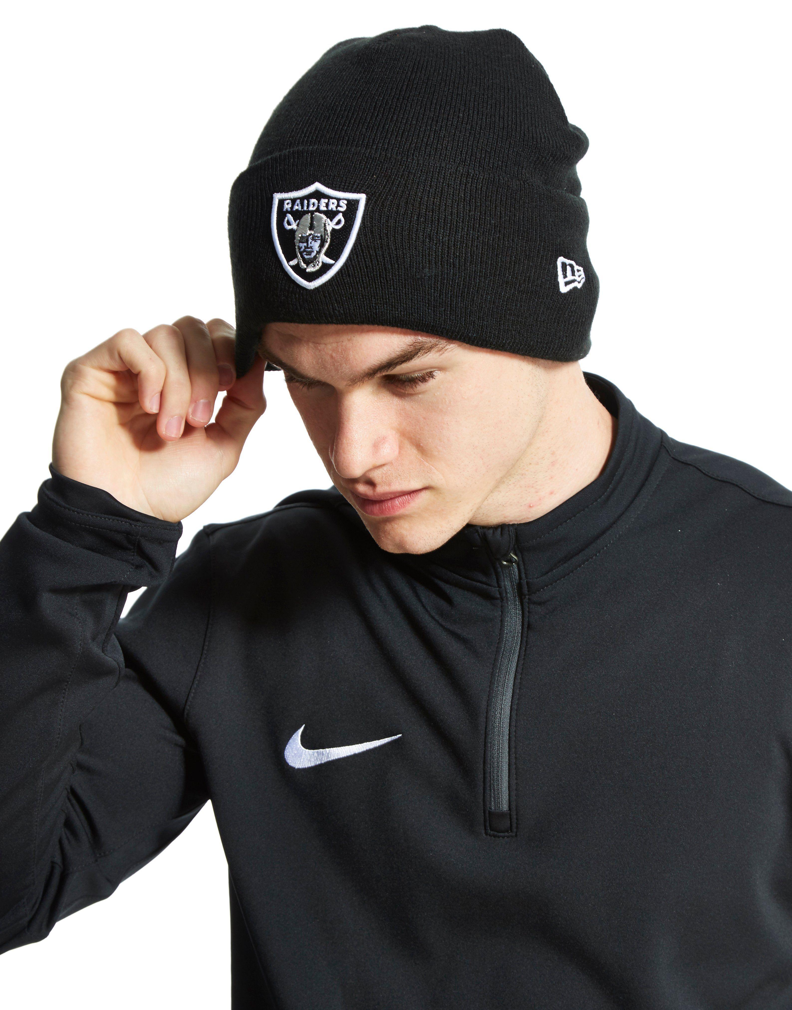 New Era NFL Oakland Raider Beanie Hat