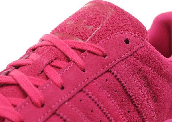 Adidas Superstar Pink Suede
