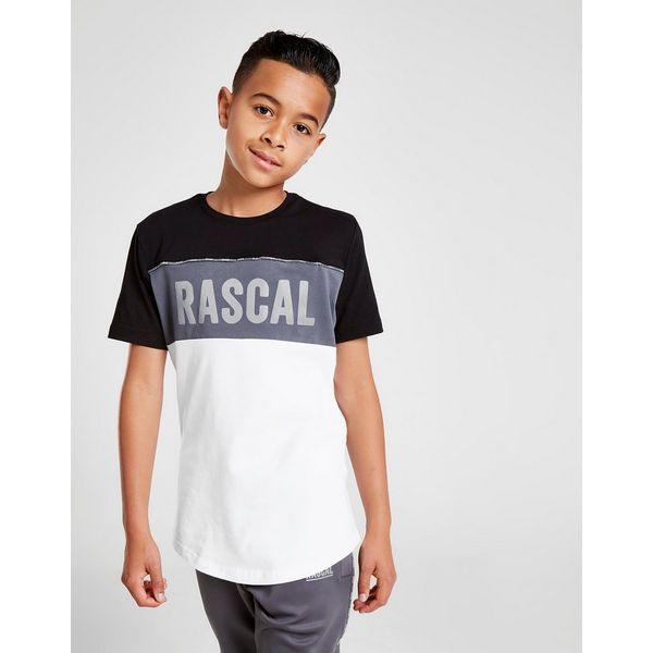 Rascal Acronym Colour Block T-Shirt Junior