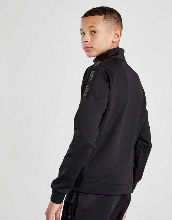 Rascal Iridescent Tape 1/4 Zip Sweatshirt Junior