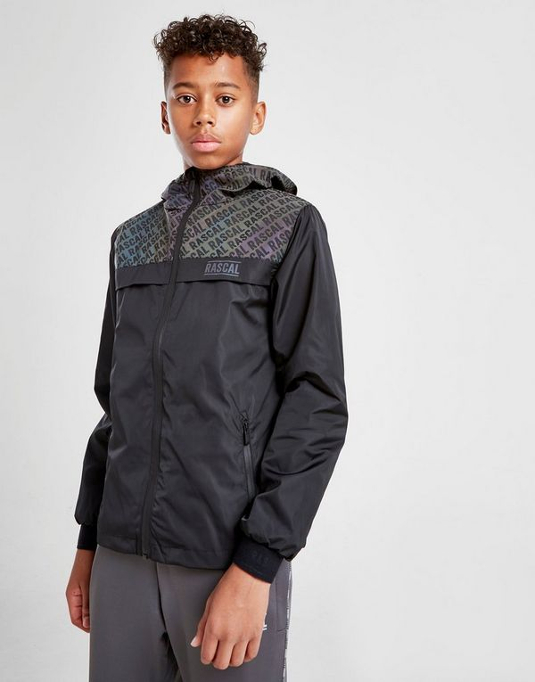Rascal Iridescent Windbreaker Jacket Junior