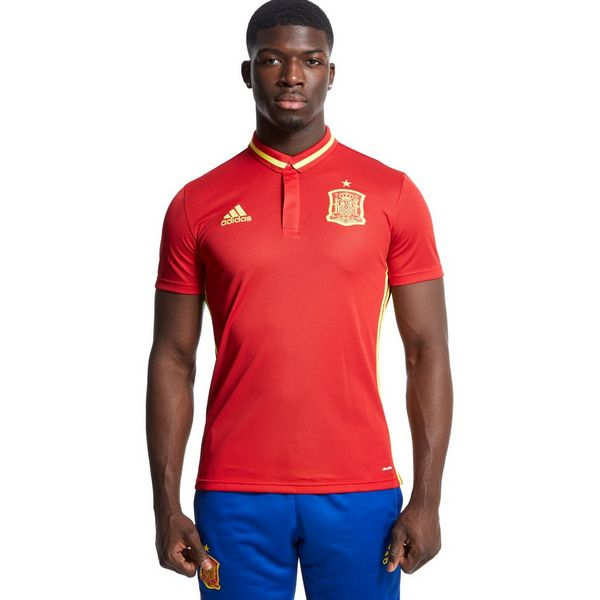 Adidas Spain Climalite Polo Shirt Jd Sports