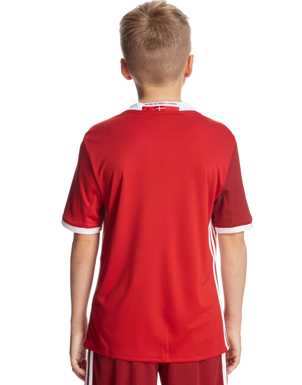 adidas Denmark 2016 Home Shirt Junior