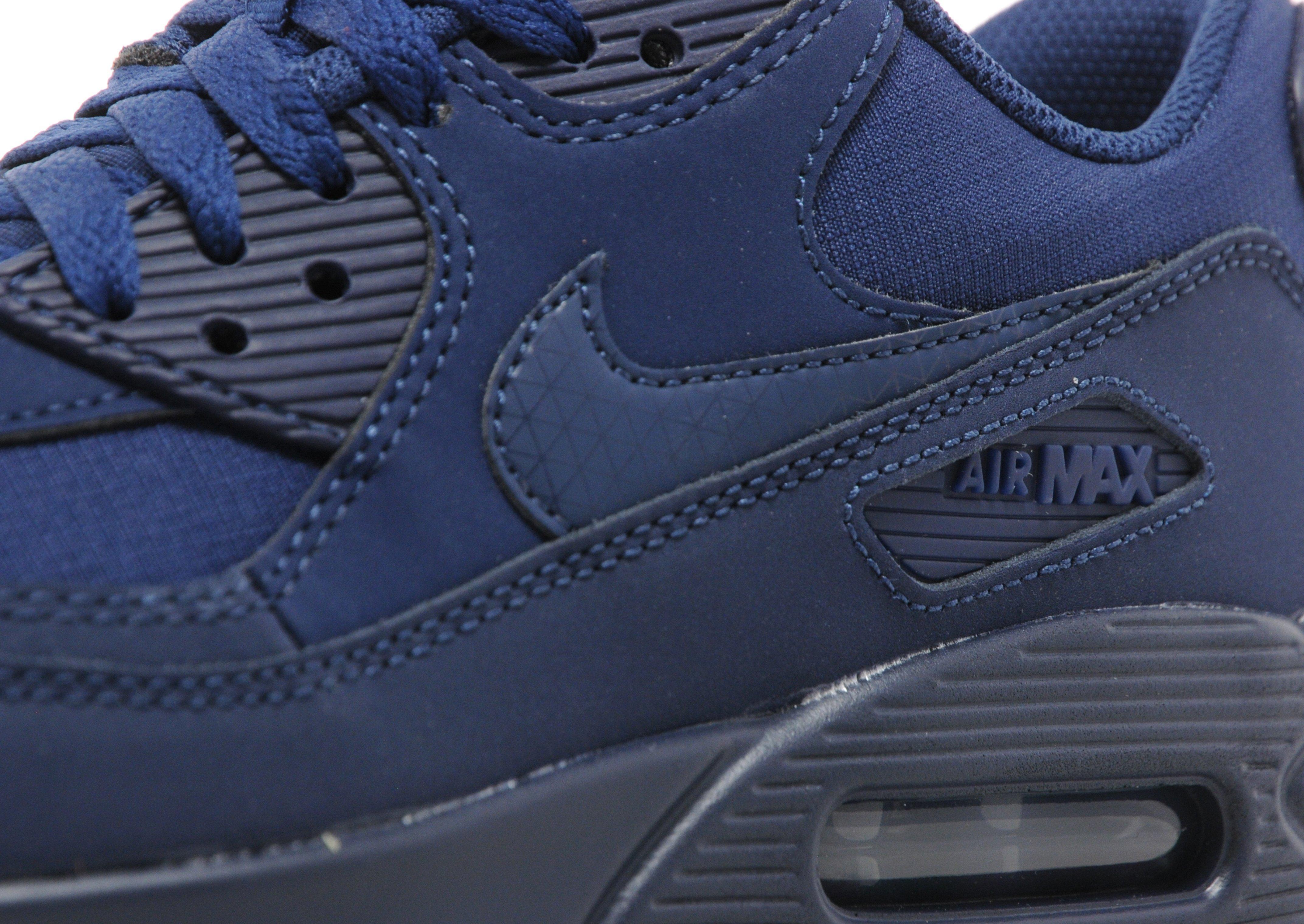 2014 nouveau Nike Air Max 90 Jd Bleu Marine Roi confortable en ligne jeu  2014 nouveau