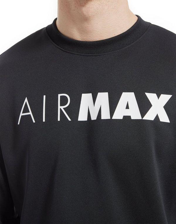 zhqmz nike air max crew sweatshirt jd sports