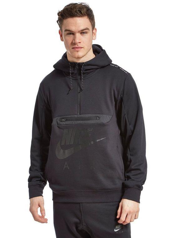 Nike Air Fabric Mix Half Zip Hoody | JD Sports