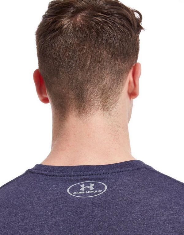Under armour sportstyle left chest logo t shirt jd sports for T shirt left chest logo size