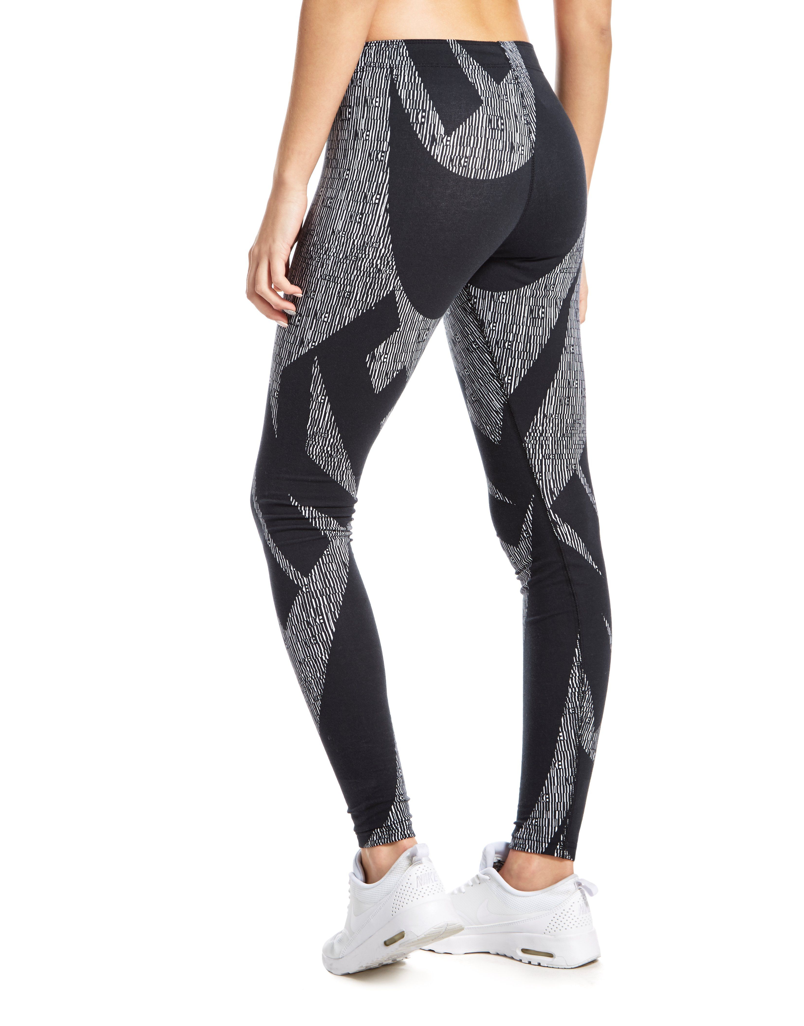 Nike All Over Print Repeat Leggings