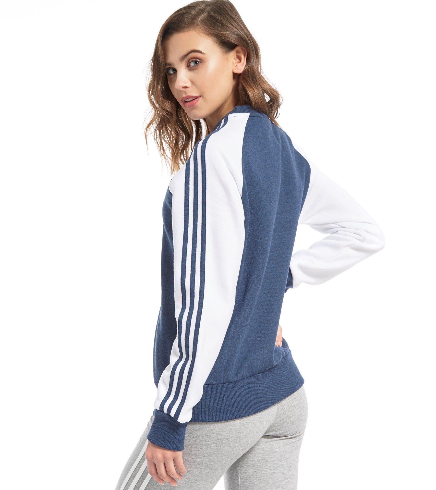 adidas Originals Trefoil Infill Crew Sweatshirt
