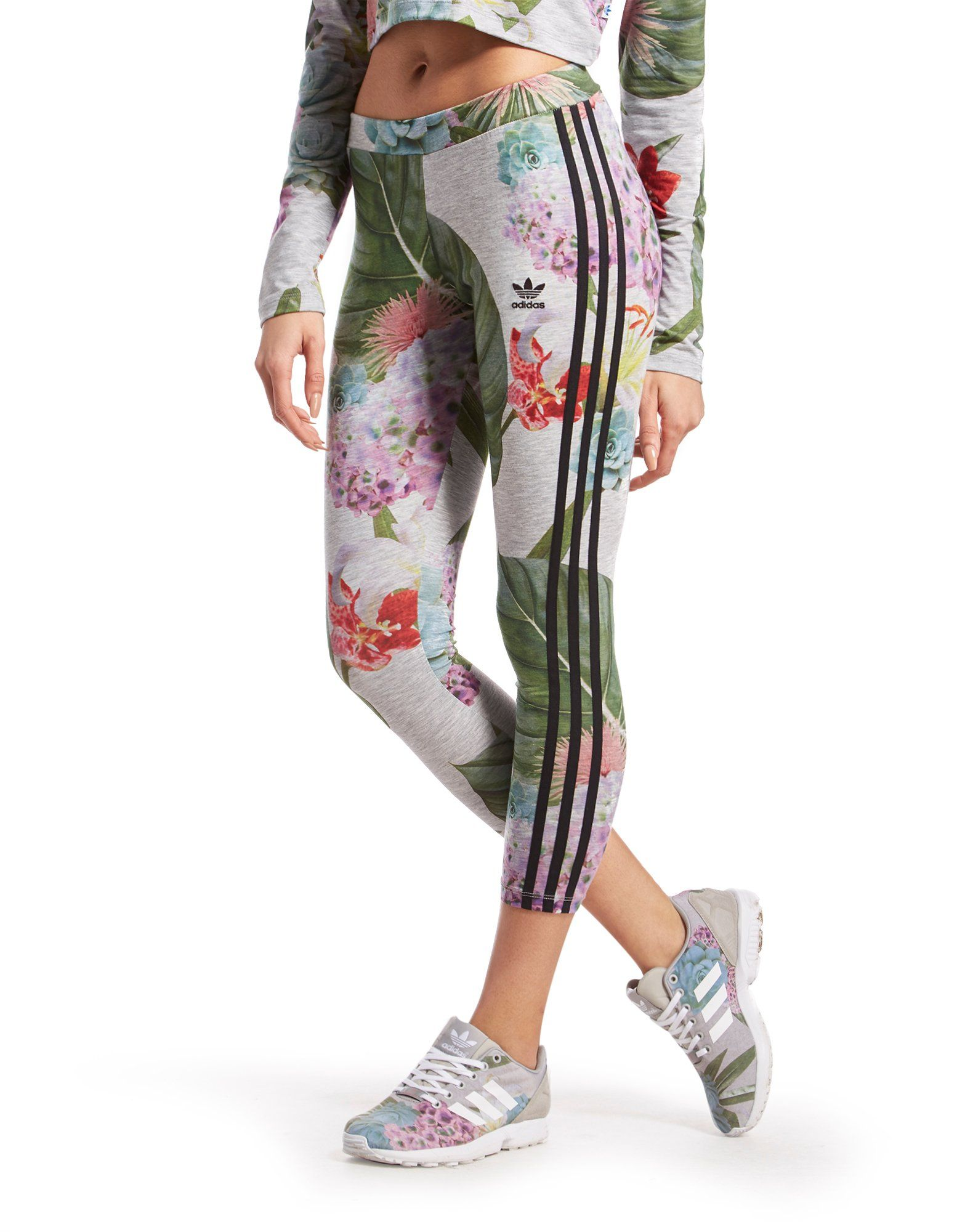 adidas Originals Training Leggings Floral Pack