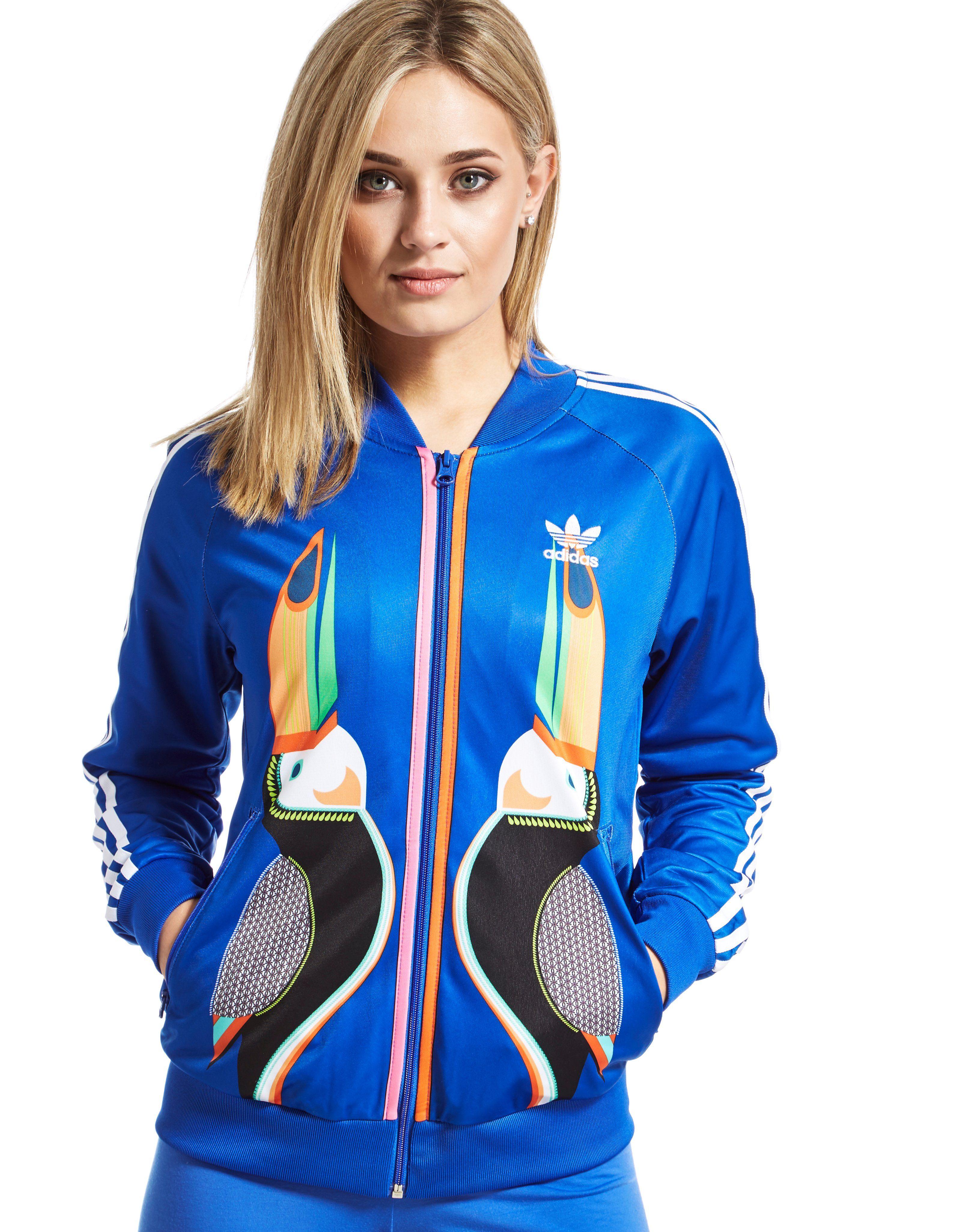 adidas Originals Supergirl Farm Track Jacket