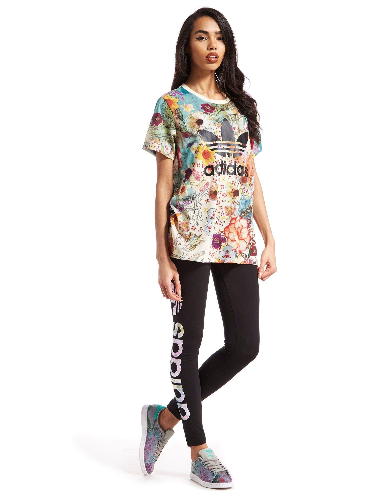 adidas Originals Boyfriend Trefoil T-Shirt Farm Pack