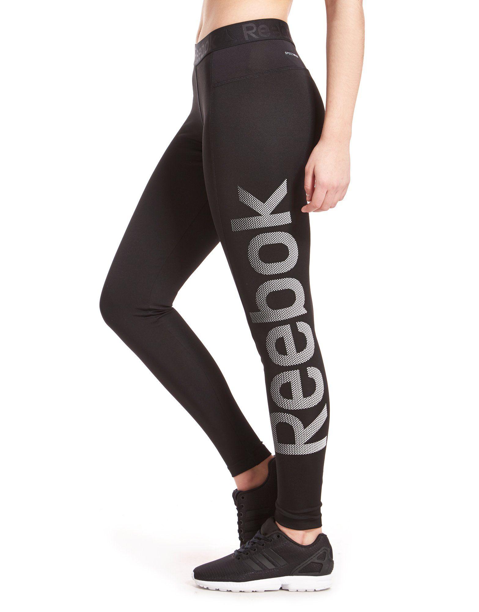 Reebok Large Logo Tights