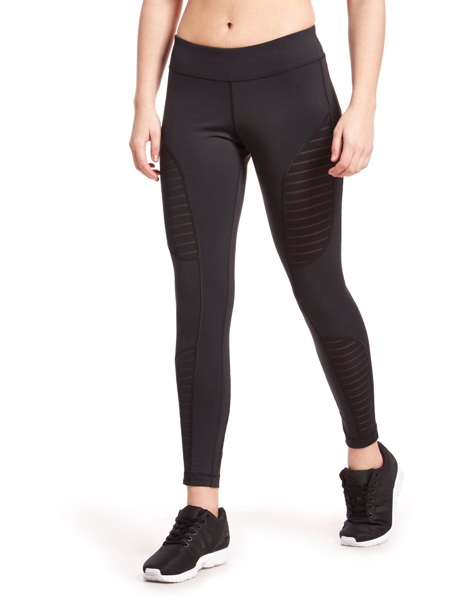 Reebok Mesh Panel Leggings