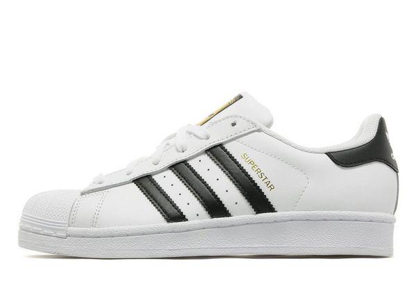 womens adidas superstar 2.5 trainer white black gold
