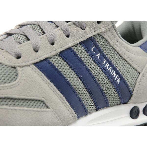 Adidas La Trainer Grey And Blue