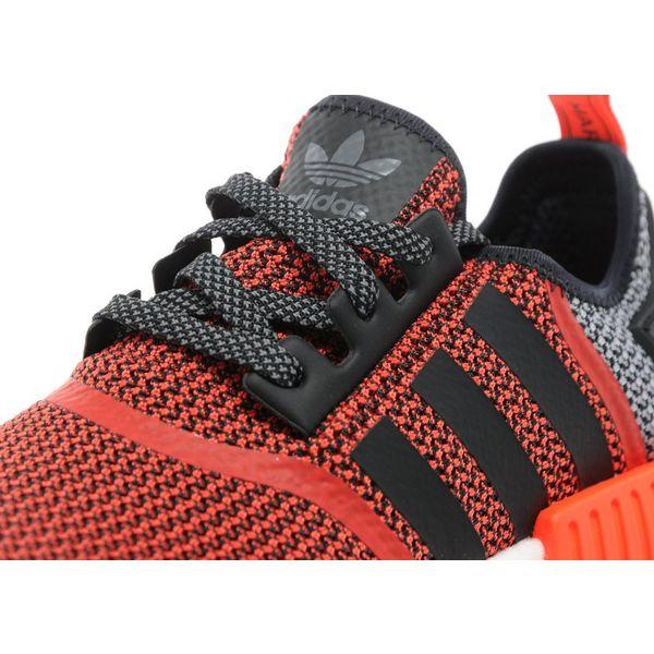 reputable site 4ff49 2fab0 adidas nmd r1 primeknit shock pink dame sko shock rosa kjerne svart kjører  hvit bb2363 adidas originals nmd runner