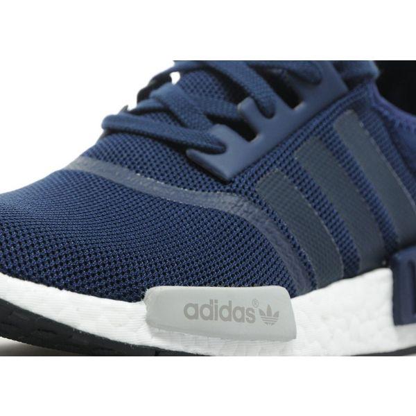 Cheap Adidas NMD R1 Primeknit Glitch Camo White Black Sneaker NTAR