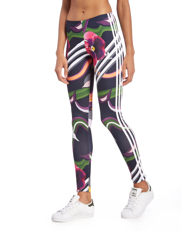 Adidas Leggings Floral l-d-c.co.uk