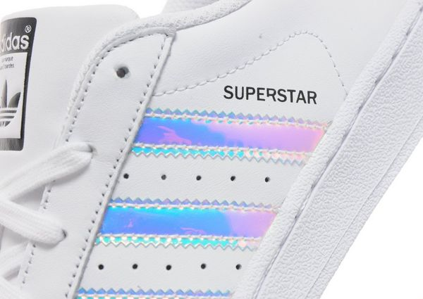 adidas originals junior superstar iridescent trainer