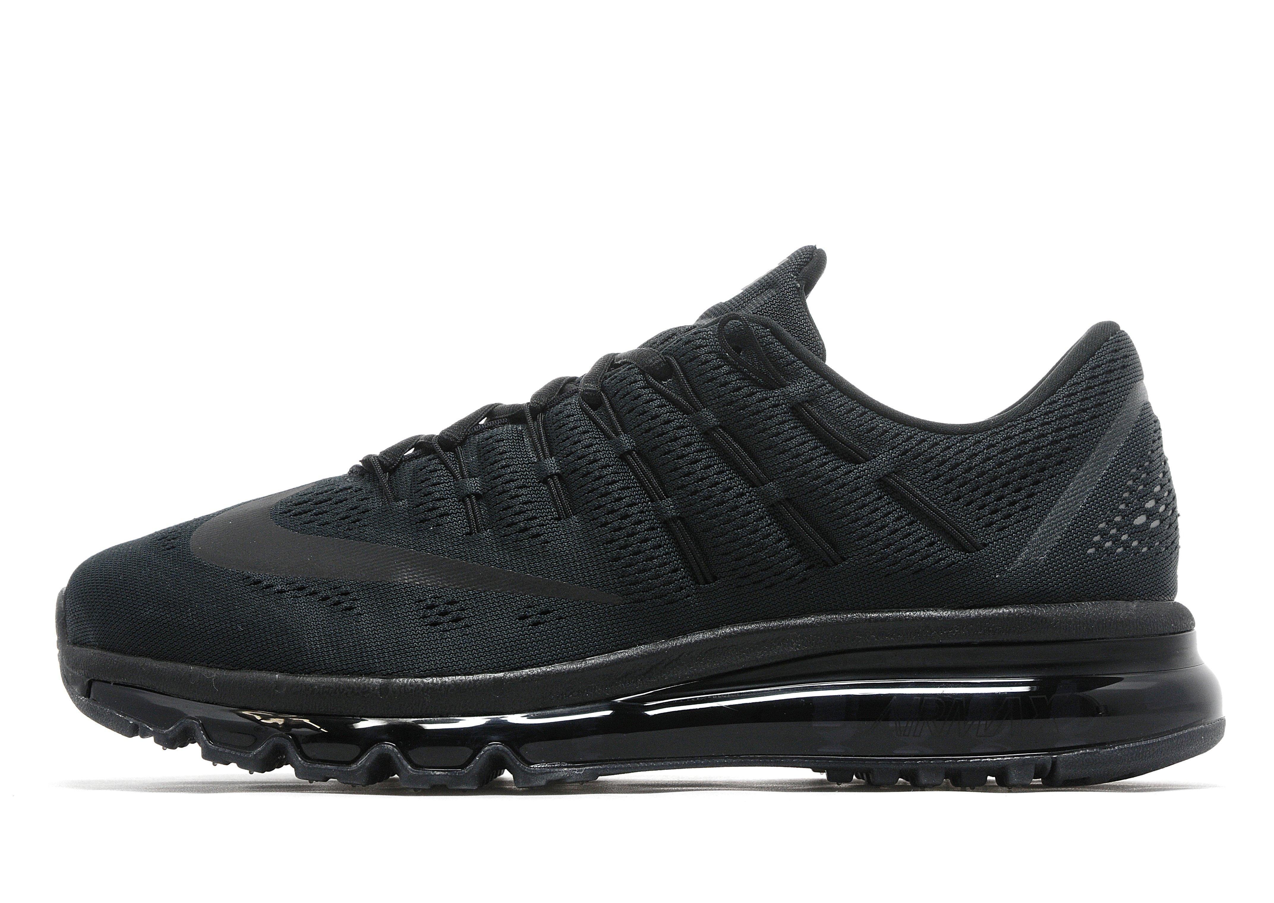 nike air max 2016 zwart