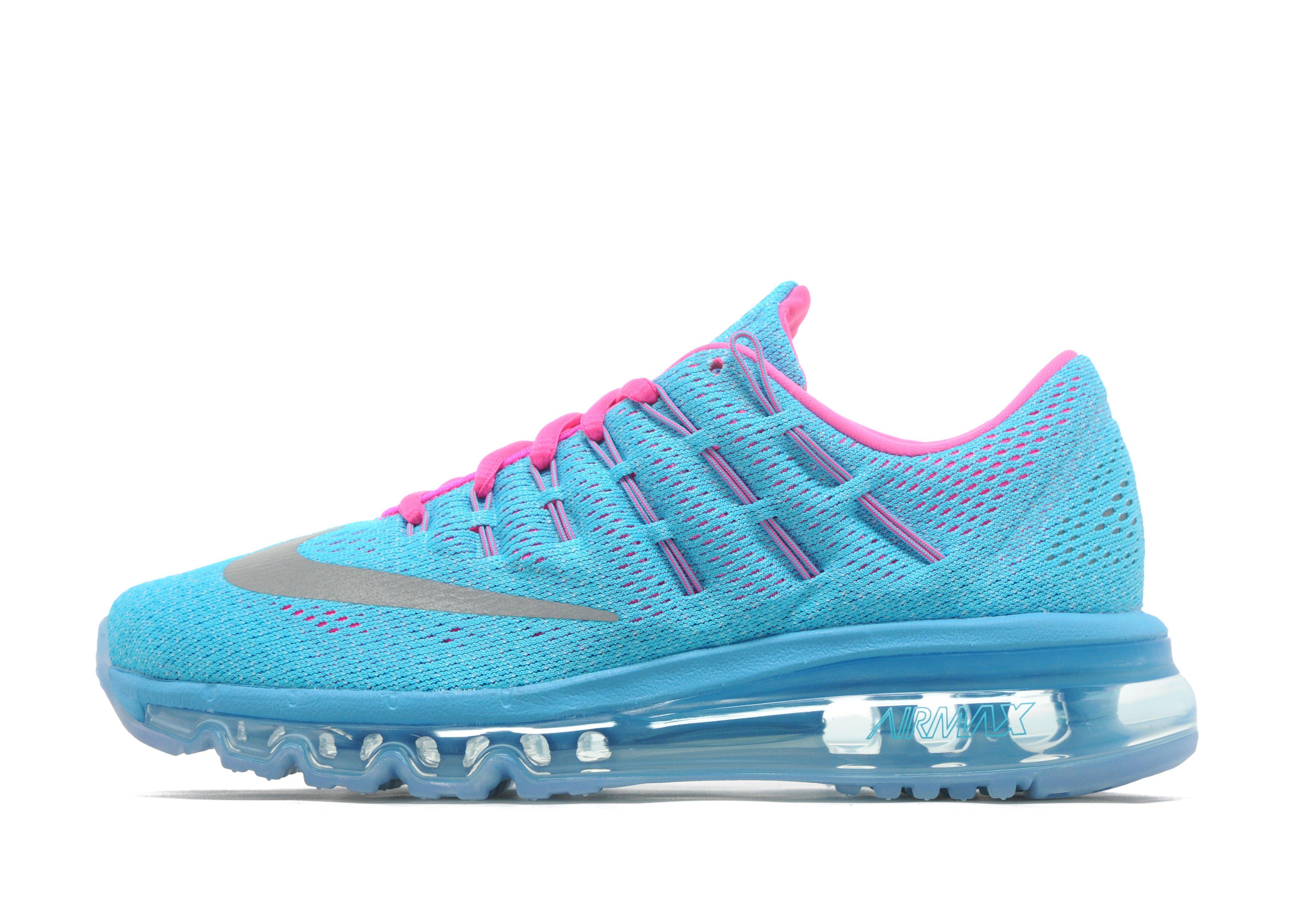 nike air max roze met blauw