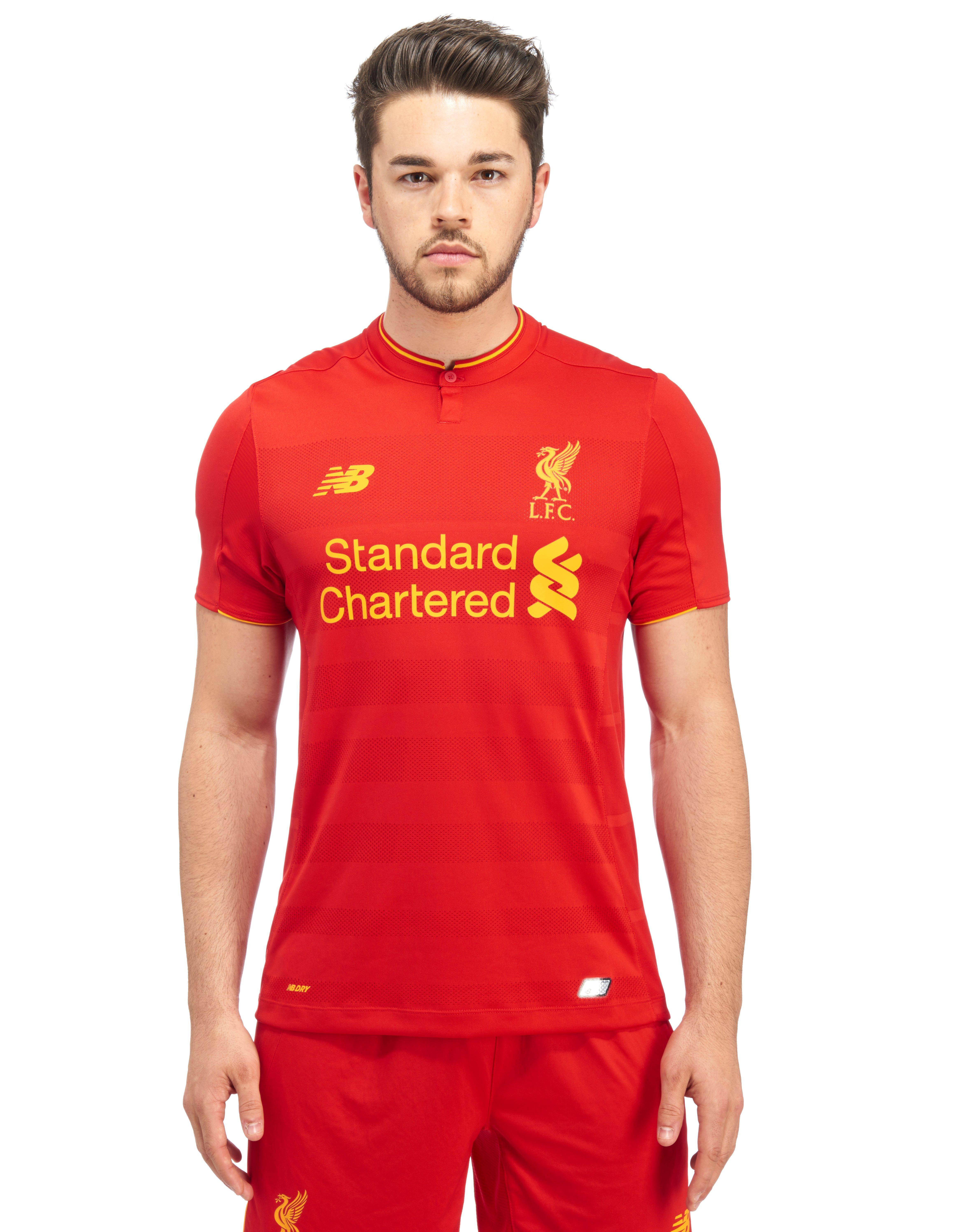 New Balance Liverpool FC 2016/17 Home Shirt ...