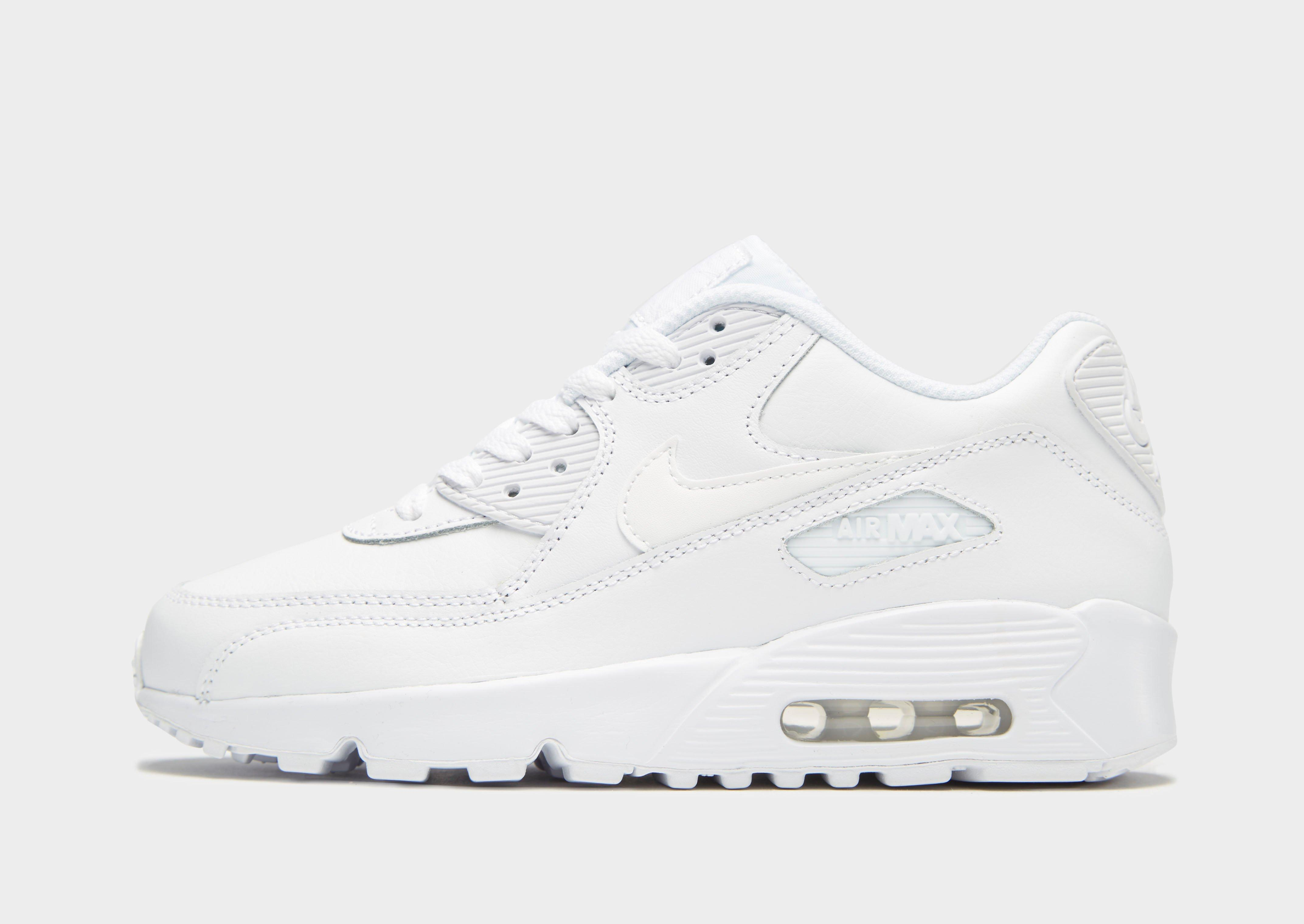 nike air max 90 junior trainers whiterun