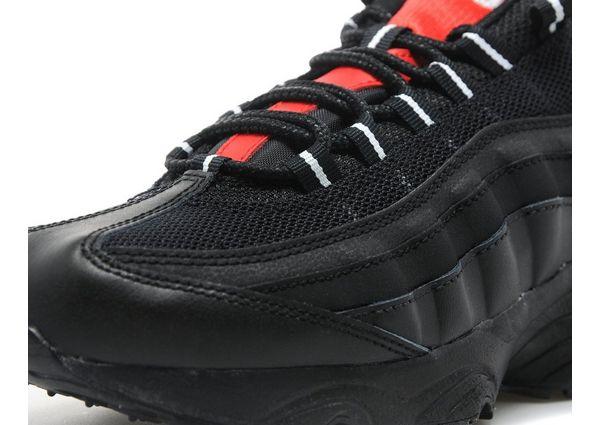 Black Leather Nike Shoes