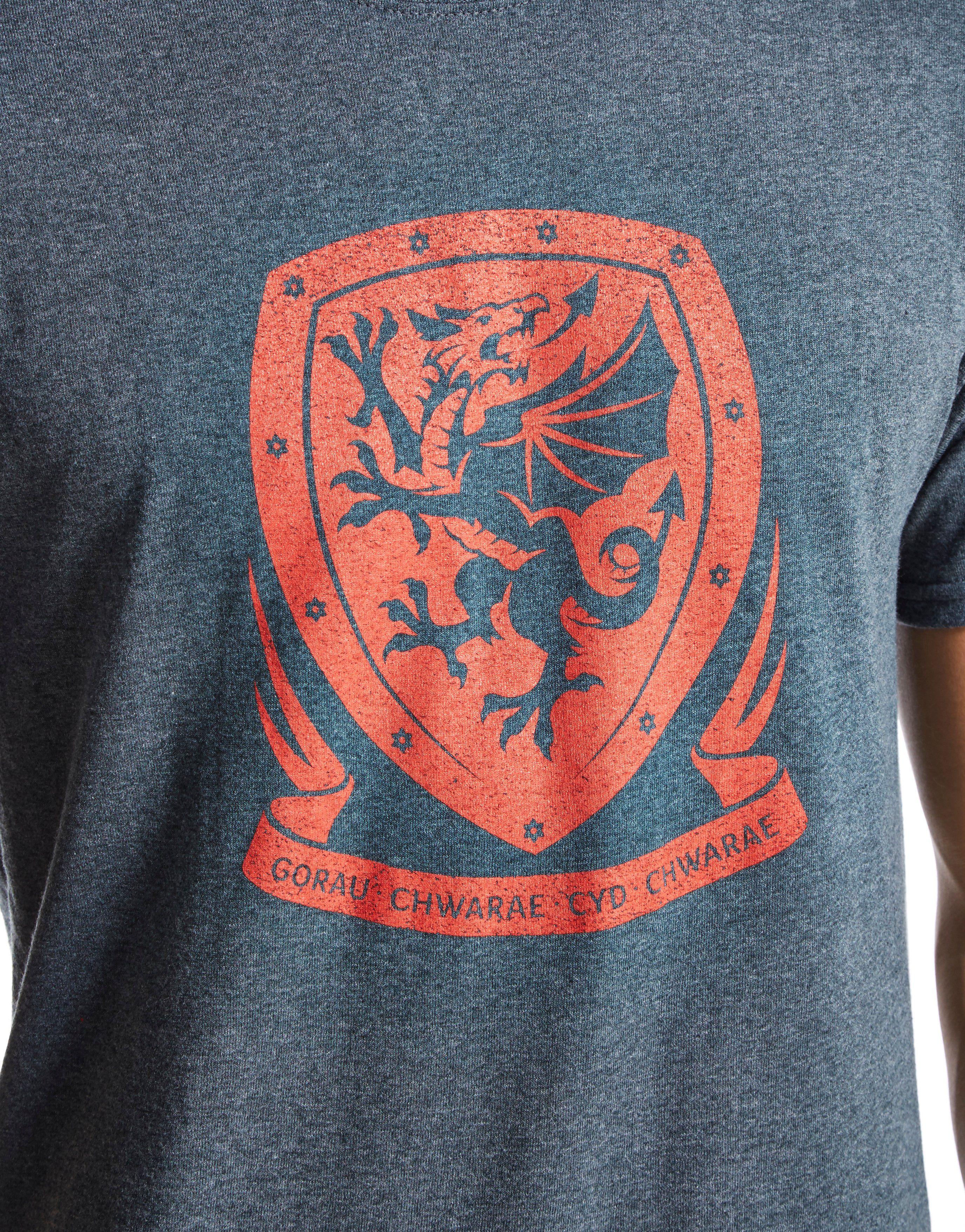 Official Team Wales Crest T-Shirt